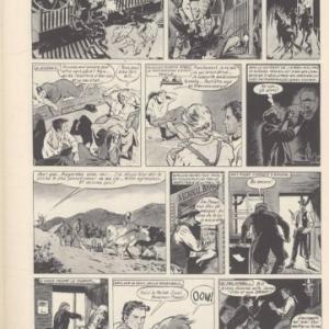 """Rocky Bill"", dessine par (c) Rene Follet/Ed. ""du Lombard"", 1953-1955"