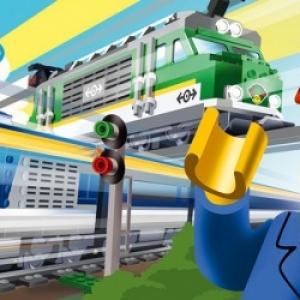 "A Schaerbeek, a ""Train World"", une enigme a resoudre (c) ""SNCB""/""Lego"""