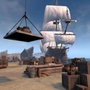 """Au Port d Anvers, en """"Realite Virtuelle 3 D"""""""