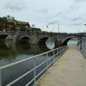 Le Ravel, sous le Vieux Pont de Jambes