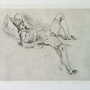 """L Offertoire"" (c) Felicien Rops (c) ""Dus Art Gallery"""