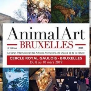 """5ème """"Animal Art Bruxelles"""", au """"Cercle Gaulois"""", jusqu'au 10 Mars"""