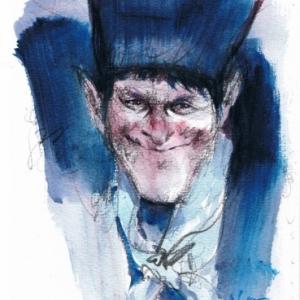 """Dessin pour la serie """"Les Zingari"""" (c) Rene Follet/""""Le Journal de Mickey"""", 1971"""