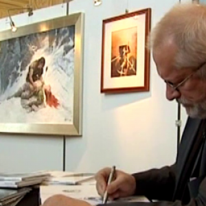 "Grzegorz Rosinski, createur de ""Thorgal"" (c) Ed. ""Le Lombard"""