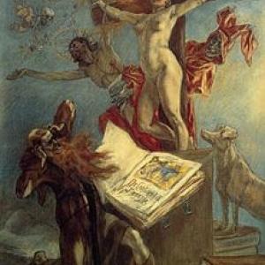 """""""La Tentation de St.-Antoine/Felicien Rops/1878 (c) """"Musee Felicien Rops"""""""