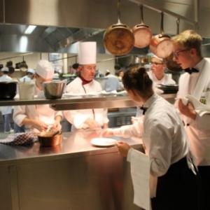 Que deviendrait la reputee Ecole hoteliere provinciale, dont voici les cuisines (c) Province de Namur