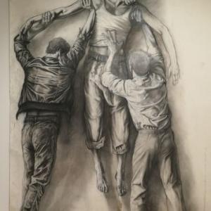 """Jean Genet""/2006 (c) Ernest Pignon-Ernest"