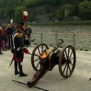 "L Inauguration au Canon, avec Willy Borsu (c) ""Canal C"""