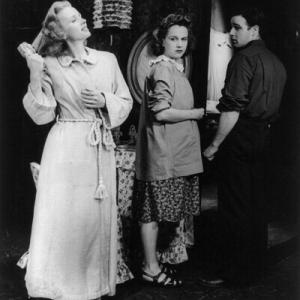 """Cree par Tennessee Williams, """"Un Tramway nomme Desir"""", au theatre, en 1947"""