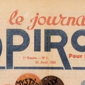 """L Entete du numero  1 (c) """"Dupuis"""""""