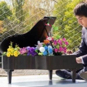 Newton Lawrence et son mini-piano
