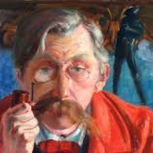 """""""Emile Verhaeren"""", Theo Van Rysselberghe"""