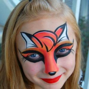 "Le Mardi-Gras, maquillage gratuit, au ""Cameo"", a  Namur,"