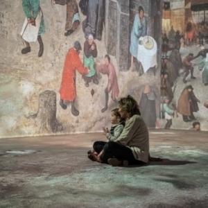 """Immersion a 360 degres, au sein du Palais de la Dynastie (c) """"Beyond Bruegel"""""""