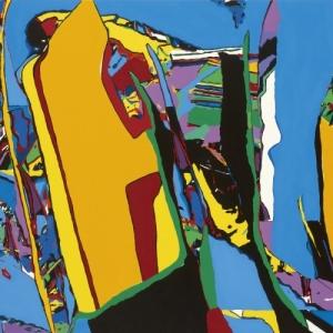 Sans titre/2010/Acrylique sur Toile/95 x 120 cm (c) Luis Salazar