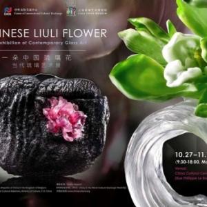 """""""Liuli, une Fleur chinoise"""", au """"Centre Culturel de la Chine"""", jusqu'au 11/11"""