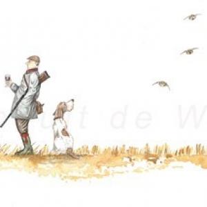 Le trait, tout en finesse, avec humour, de (c) Thibault de Witte
