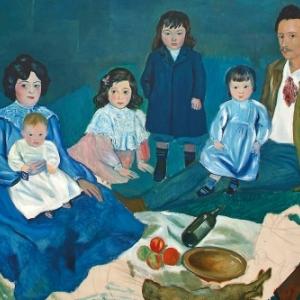 """""""La Famille Soler"""" (Pablo Picasso) (c) """"Mamac""""-Liege"""