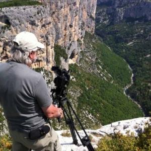 En plein tournage (c) Daniel Drion