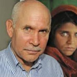 "Steve McCurry & Sharbat Gula (c) Steve McCurry & ""Telepro"""