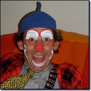 En Clown . vincentpage.be