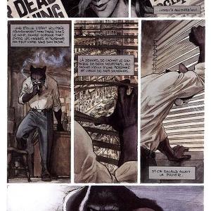 Une planche du 1er tome © Juanjo Guarnido & Juan Dias Canales/Éd. « Dargaud »/2000