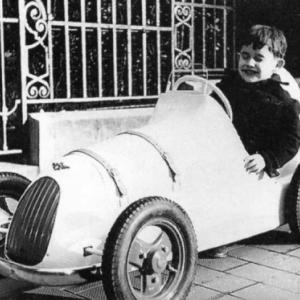 Bien avant Le Mans, Jacky Ickx au volant de sa 1ere voiture monoplace