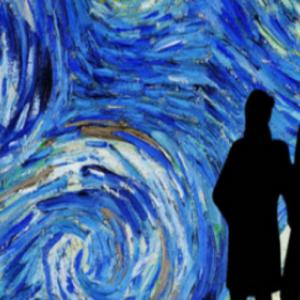"""Van Gogh - The immersive Experience"", a la Bourse"