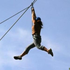 """Montee d Adrenaline garantie (c) """"Dinant Aventure"""""""