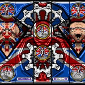 """Handball"" (2008/302 x 444 cm) (c) Gilbert et George/""Albert Baronian Gallery"""