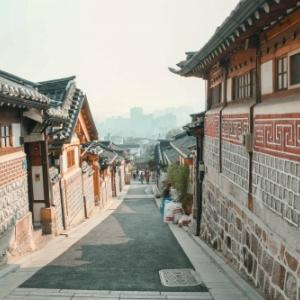"Le ""Bukchon Hanok Village"", a Seoul"