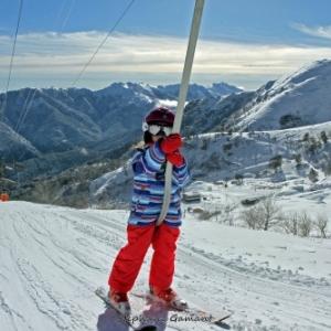 Dans son superbe decor montagnard, le ski alpin en Corse (c) Stephane Galant