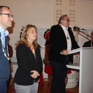 "Inauguration officielle (c) ""Sud Presse"""