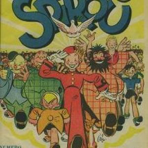 """Le numero 1, avec """"Tif et Tondu"""" et """"Spirou"""" (c) """"Dupuis"""" 1938"""