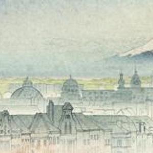 L'Hotel de Ville de Bruxelles et ... le Mont Fuji (c) D. Piot