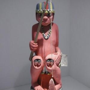 """Le Createur, Ngutapa (c) Collection du Musee religieux et etnographique """"MUrke"""", Wilrijk/Photo : Jacques Baudoux"""