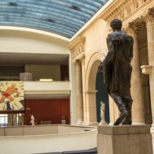 """""""Alix - L'Art de Jacques Martin"""" au sein de la section de la Rome Antique du """"Musee Art et Histoire"""" (c) """"Essentiel BD"""""""