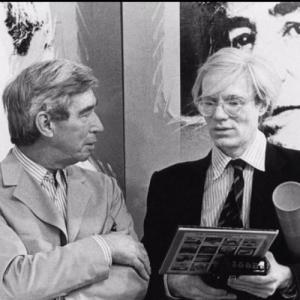 "Salle 8 : avec Andy Warhol (c) ""Herge-Moulinsart 2019"""