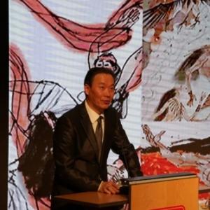 "Discours de TAN Jianjun (""Shanghaï Chinese Painting Academy"")"