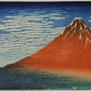 Le Mont Fuji (K. Hokusai)