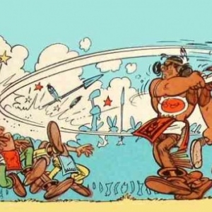 """Oumpah-Pah et les pirates"" (c) Rene Goscinny & Albert Uderzo/""Ed. Albert et Rene""/1958-1961"
