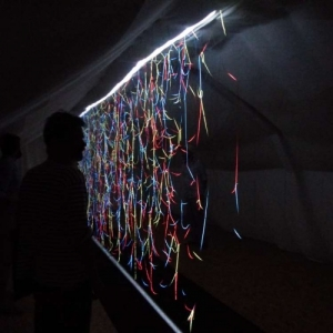 """""""Remanences"""", une installation d (c) Arthur Zerktouni"""