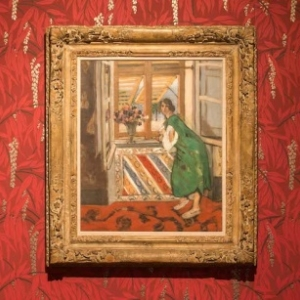 """""""La Mauresque, Robe bleue"""", d Henry Matisse, dans le Salon intime de Madame (c) Lola Pertsowsky"""