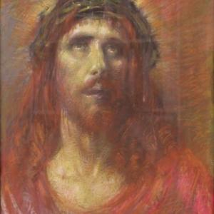 """Un des Visages tourmentes du """"Christ"""""""