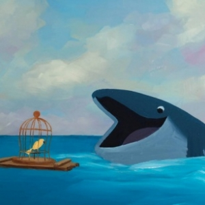 """""""Prix du Jury Jeunes pour le meilleur Court-Metrage Jeune Public"""" :""""The Bird & the Whale"""" (c) """"Paper Panther Productions"""""""
