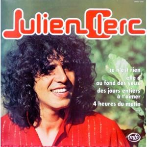 Julien Clerc, a l Epoque de Hair