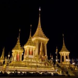 "Le Crematorium Royal (c) ""Bangkok Post""/Apichit JinakulI"