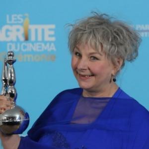 """Yolande Moreau, laureate, d un """"Magritte"""", en 2013 (c) Mark Renders/""""Getty Images"""""""