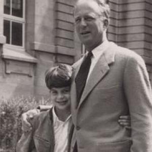 Le Prince Alexandre et son pere, le Roi Leopold III (c) Archives de la Princesse Lea
