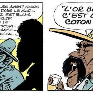 L'or blanc c'est le coton/Page 06 © « Achdé » & « Jul« /« Lucky Comics-Dargaud »/2020